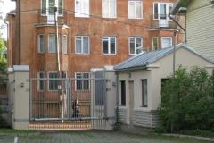 Suurbritannia saatkond, aia viimistlustööd ja panduse tegemine